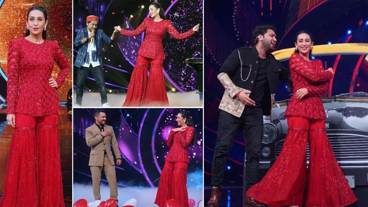 Indian Idol 12 Welcomes Karisma Kapoor