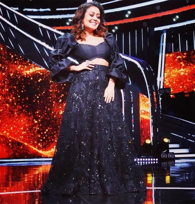 Indian Idol 2021  Neha Kakkar look Hot