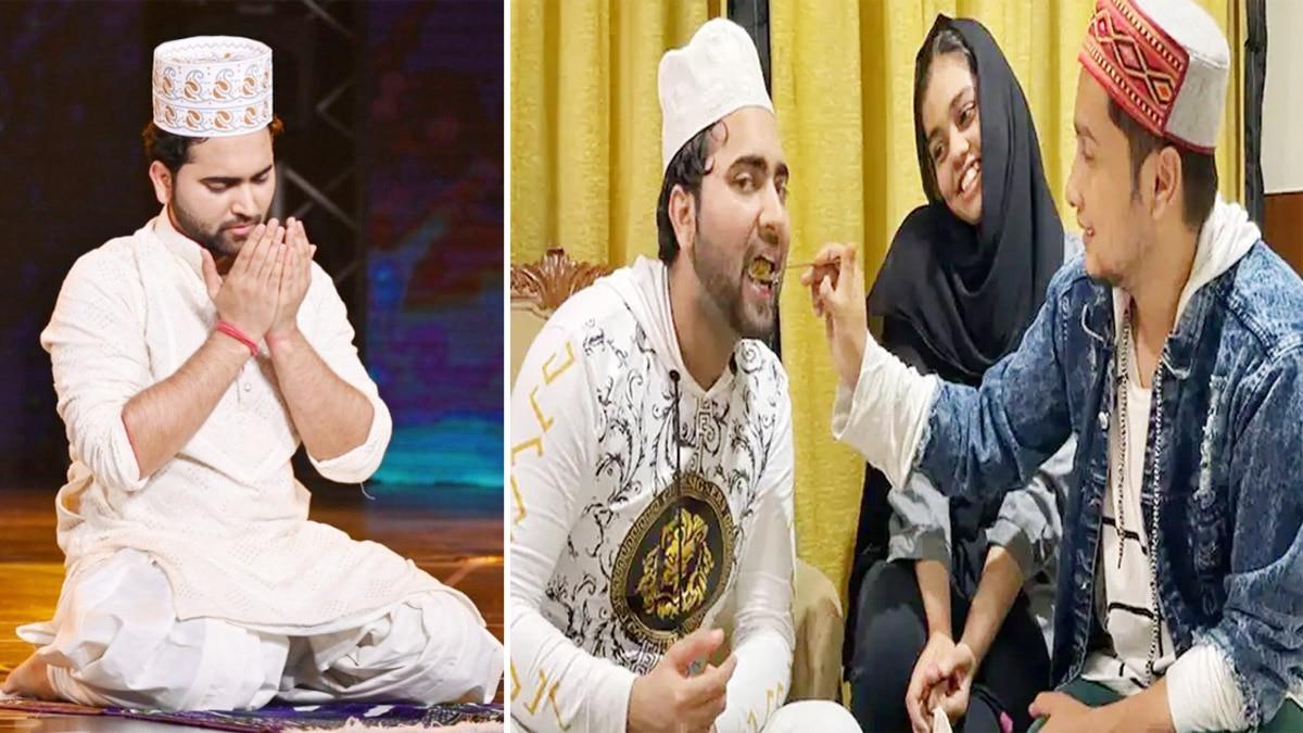 Indian Idol contestants celebrate Eid