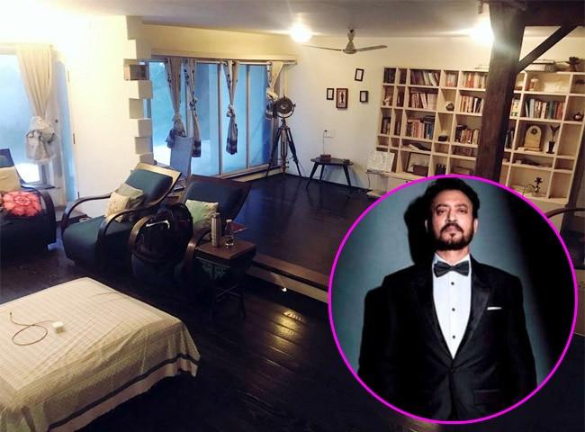 Inside Irrfan Khan s room