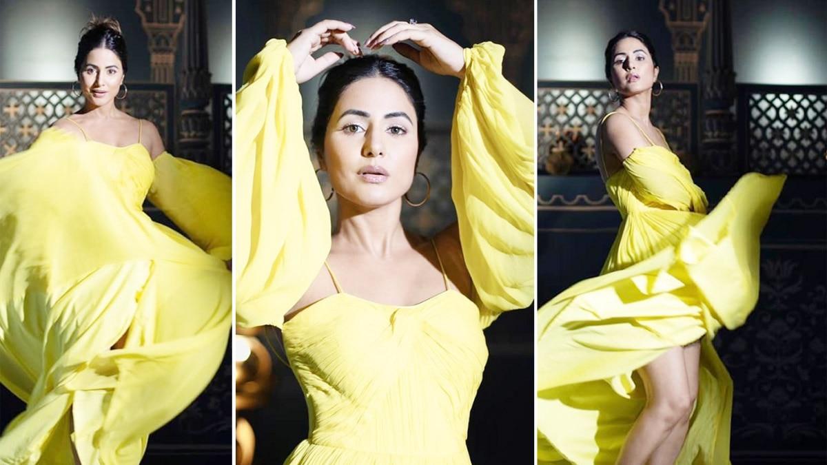 Inside pics from Hina Khan s glamorous photoshoot