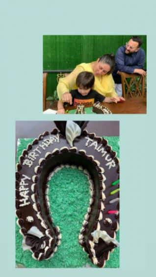 Inside pics of Taimur s birthday party  Don t miss the horseshoe cake
