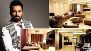 Inside Sonu Sood's Gorgeous House in Mumbai: Om Wall, Buddha Statues And a Lot of Peace
