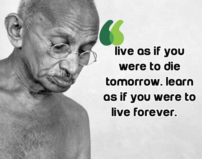 Motivational Quote By Mahatma Gandhi 10 Inspirational Quotes By Mahatma Gandhi Photo Gallery India Com Photogallery