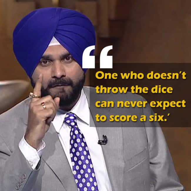 Inspirational quote by Navjot Singh Sidhu