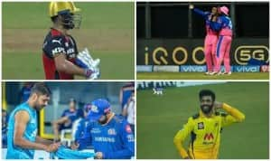 IPL 2021 Unique Celebrations: From Riyan Parag's 'Mock Selfie' to Virat Kohli's 'Baby Celebration', Top Moments | SEE PICS