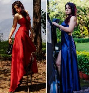 Aamir Khan's Daughter Ira's Love For Tree House Made Her Shoot on One And Raise Mercury Level in Thigh High Slit Gown
