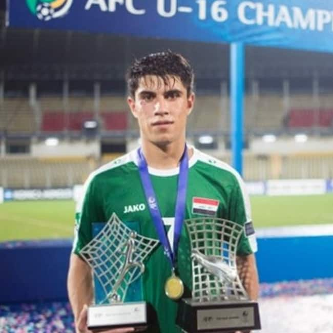 Iraq team player Mohammed Dawood