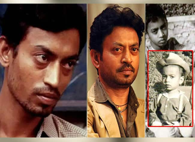 Irrfan Khan Unseen Pictures  From Childhood Photos to Young Star  Photos Will Take You Down The Memory Lane