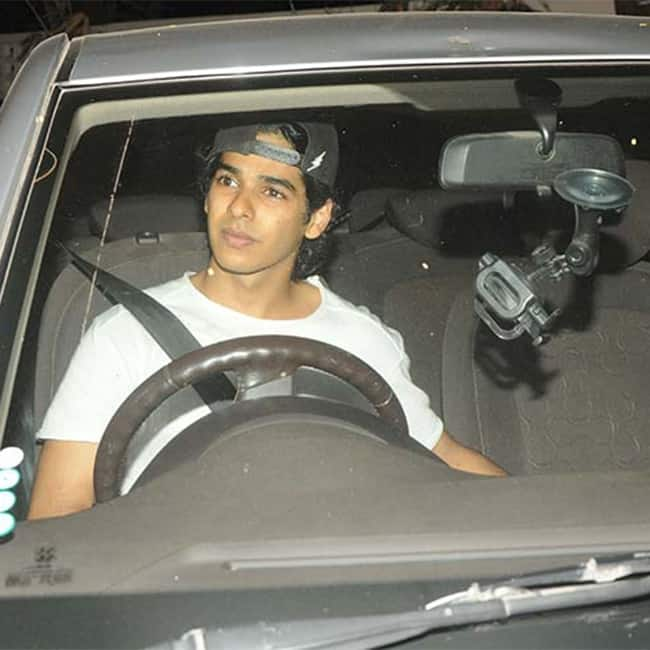 Ishaan Khattar during Baywatch screening