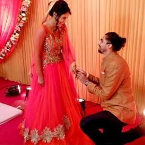 Cricketer Ishant Sharma gets engaged to Indian basketball star Pratima Singh, see pics
