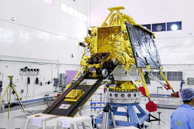 ISRO prepares for the launch of Chandrayaan 2 on July 15