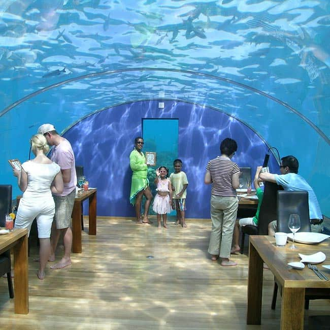 6 Underwater Restaurants You Can Experience Submersed Dining Across