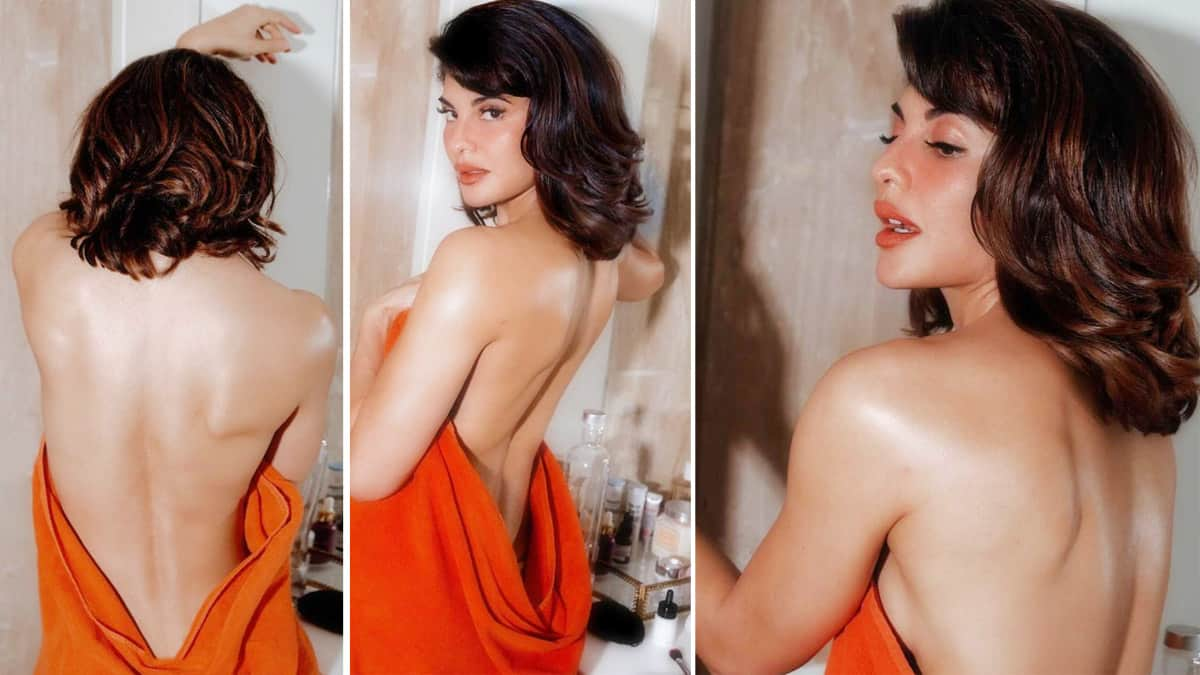 Jacqueline Fernandez is a Hotmess As She Goes Backless in a Sultry Photoshoot