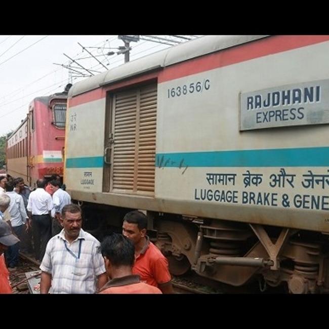 Jammu Rajdhani Express derailment at New Delhi station