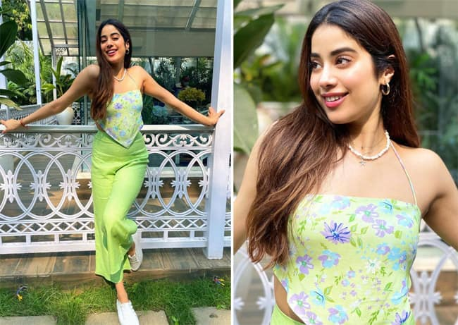 Janhvi brings back the 90 s fashion with her latest look
