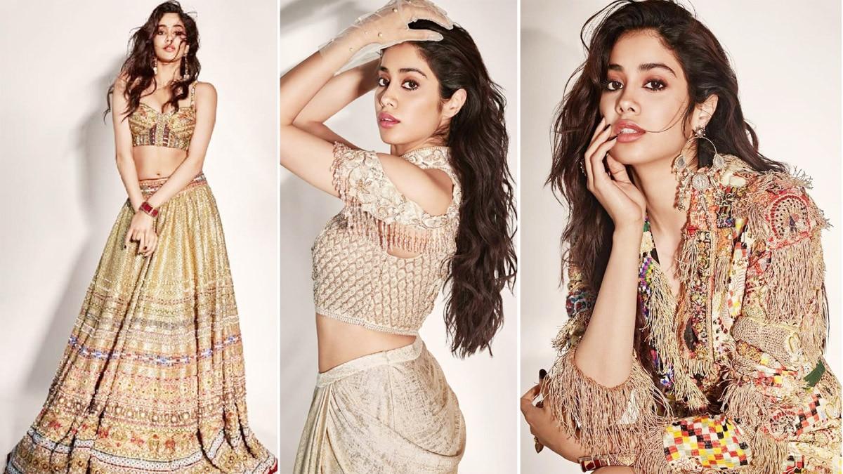 Janhvi Kapoor Dolls Up As a Gen Z Bride  Shimmers in Tarun Tahiliani   s Bridal Wear