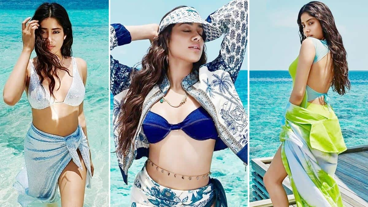 Janhvi Kapoor is a Beach Babe in These Stunning Photos