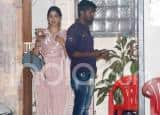 Janhvi Kapoor Continues Her Pretty Suit Outings, Wears Blush Pink This Time