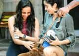Janhvi Kapoor Plays With Puppy After Her Pilates Session With Namrata Purohit - Check Cute Pics