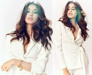 Janhvi Kapoor's Bright Yet Formal Look Prooves She is a True Fashionista, Netizens go Crazy Over Her Stunning Pictures
