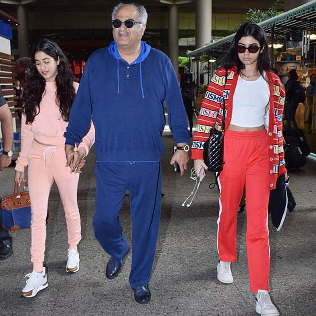 Janhvi Kapoor was in London for a family getaway
