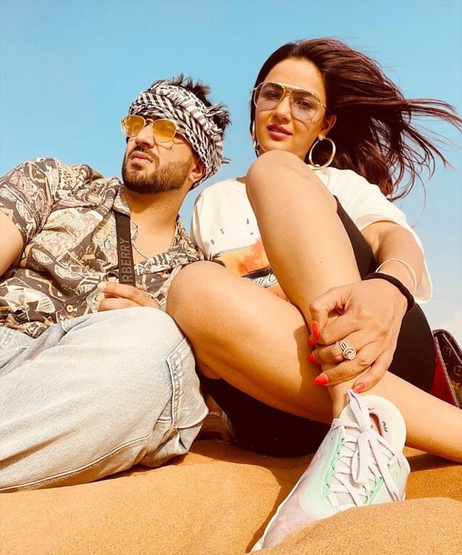 Jasmin and Aly share a glimpse of their Dubai holiday