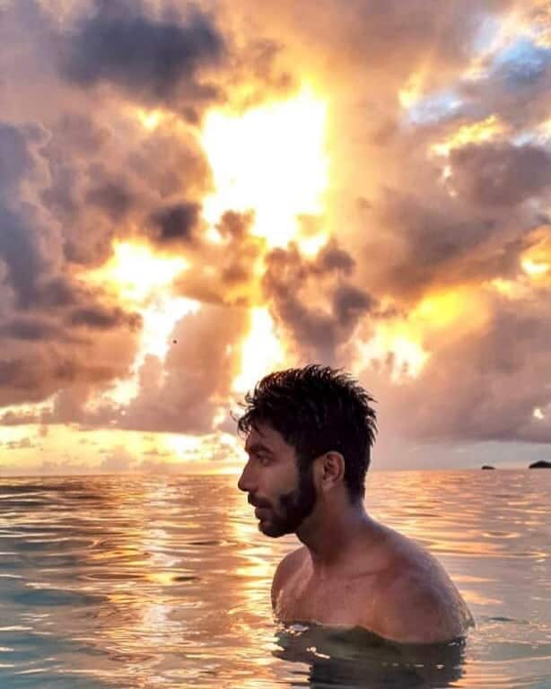 Jasprit Bumrah Instagram Photo    Seas the day
