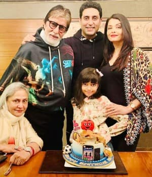 Happy Birthday Jaya Bachchan: Check Out THESE Family Pictures of The 72-Year-Old Actor