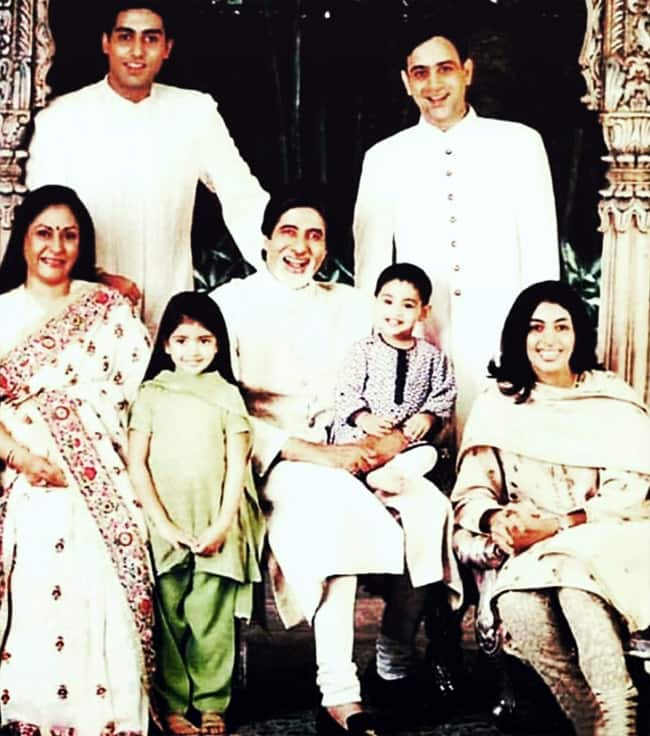 Jaya Bachchan's family photos
