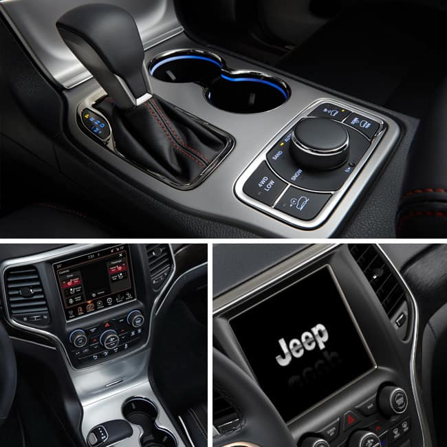 Jeep Grand Cherokee Petrol variants