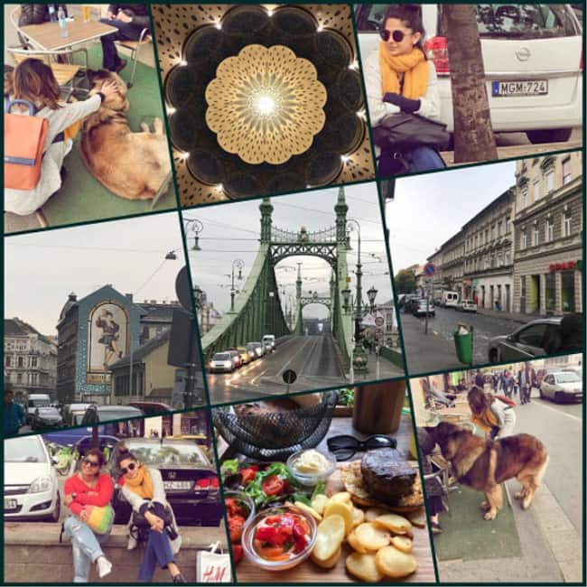 Jennifer Winget in Budapest during vacation