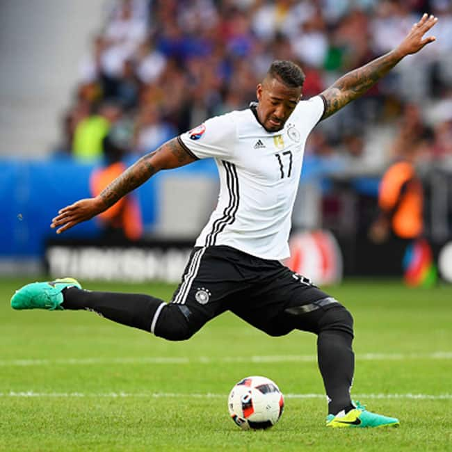 Jerome Boateng clicked during UEFA Euro 2016