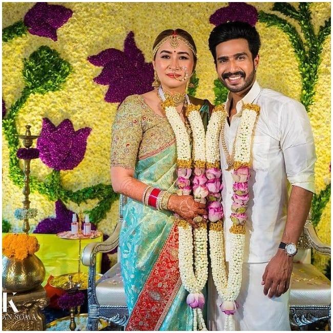 Jwala Gutta get married to Vishnu Vishal in traditional ceremony