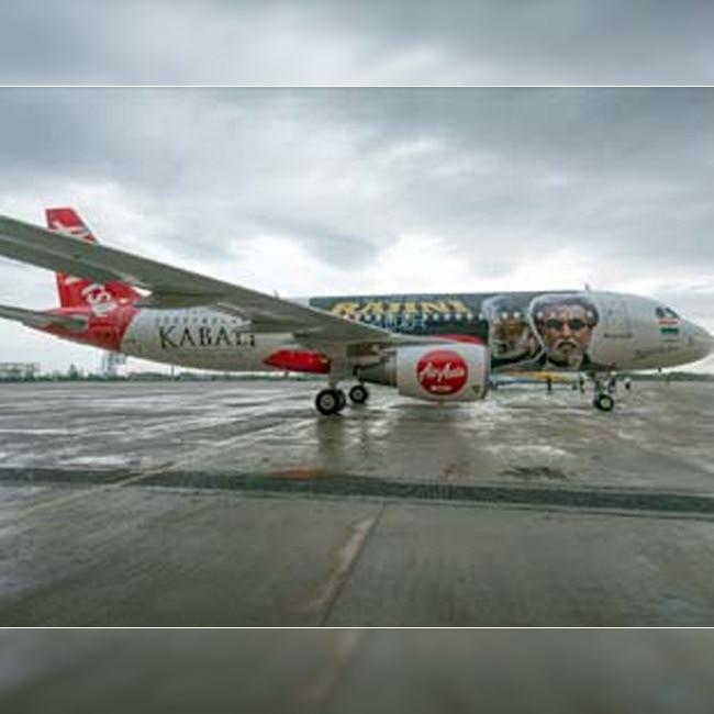 Kabali themed AirAsia plane to fly for Rajinikanth fans