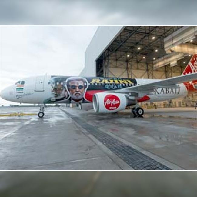 Kabali themed AirAsia plane to take fans from Bengaluru to Chennai