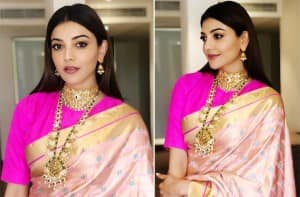 Kajal Aggarwal's Banarasi Saree is The Perfect And Most Dreamy Fashion Pick For a New Bride