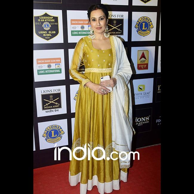 Kamya Panjabi at red carpet of SOL Lion Gold Awards 2018