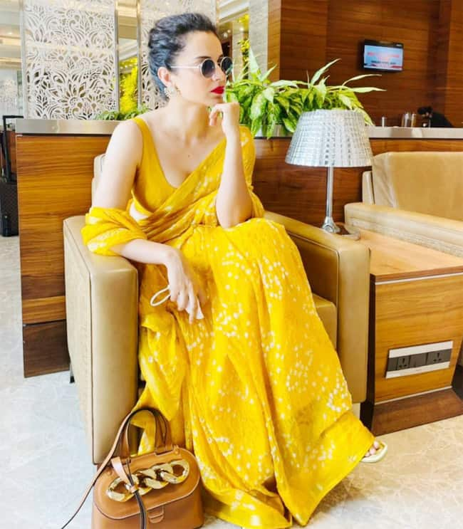 Kangana Ranaut goes vocal for local once again