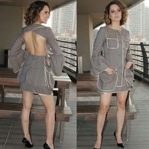 7 pictures that show how Kangana Ranaut is FASHIONABLY bossing around during Rangoon promotions!