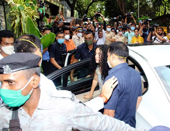 Kangana Ranaut reaches her Pali Hill office for the first time after demolition
