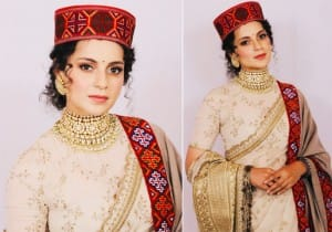 Kangana Ranaut's pahadi avatar at her brother Aksht's wedding reception is unmissable