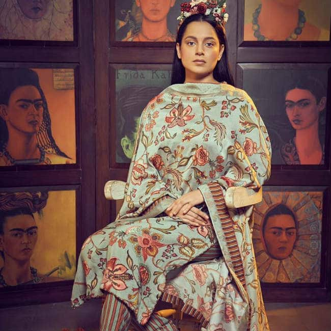Kangana s look inspired by Frida Kahlo