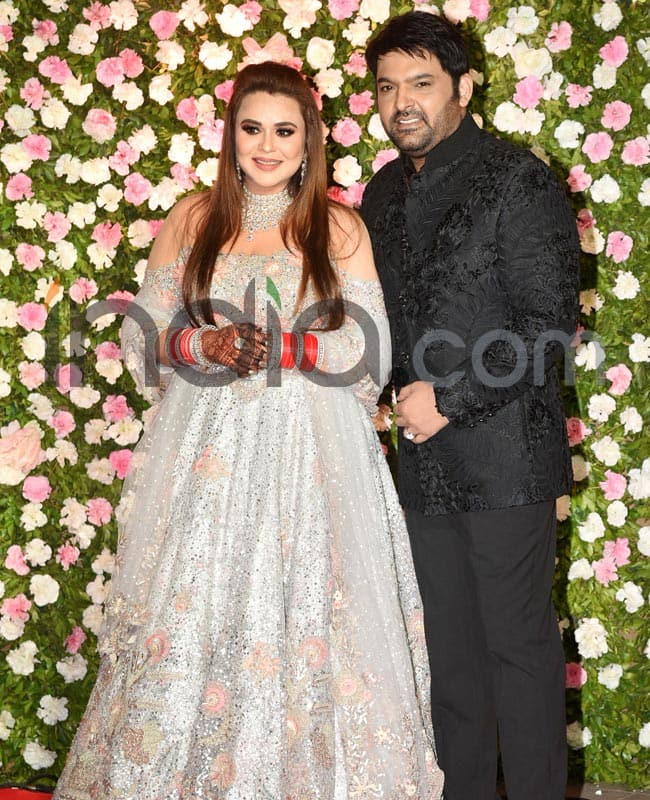 Kapil and Ginni hosted their wedding reception