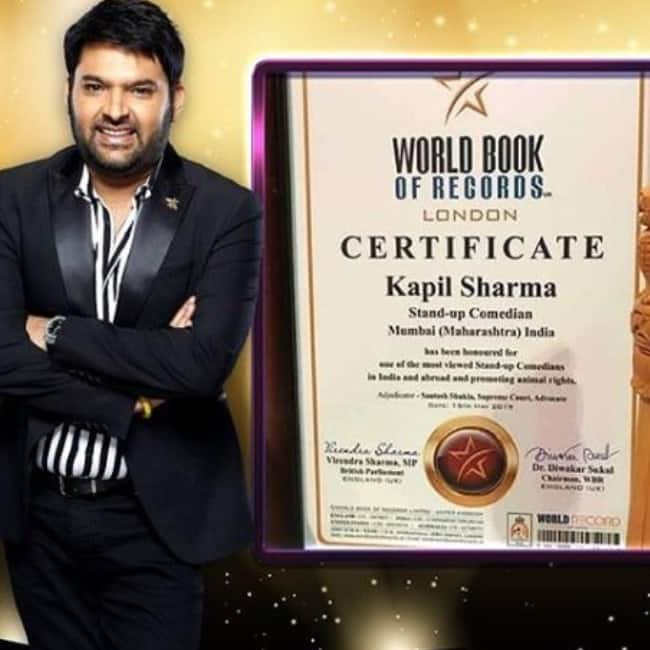 Kapil Sharma adds another feather to his achievements