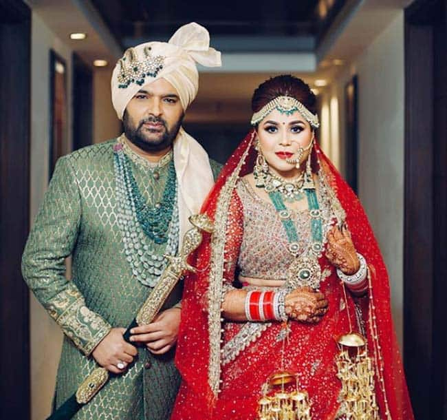 Kapil Sharma and Ginni Chatrah married in Jalandhar on December 12  2018