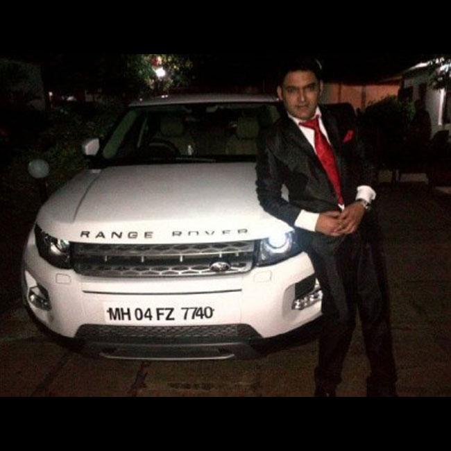 Kapil Sharma owns Range Rover Evoque SD4