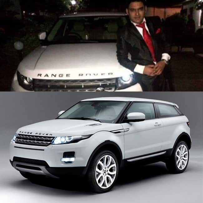 Kapil Sharma   s Range Rover Evoque SD4 is powered by a 2 179cc diesel engine