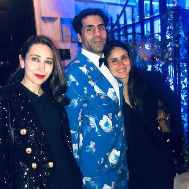 Kapoor sisters twin in black