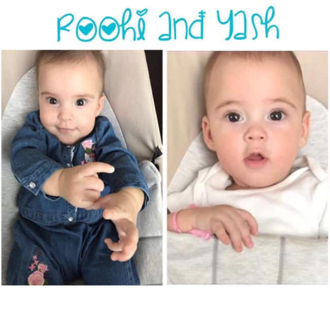 Karan Johar shares picture of his cute twin kids Roohi And Yash
